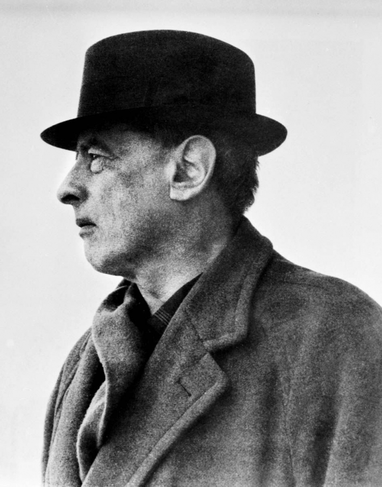 Witold Gombrowicz. Fot/PAP/reprodukcja